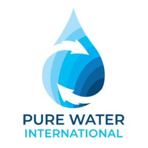 Pure Water International logo - tenant company at Roslin Innovation Centre